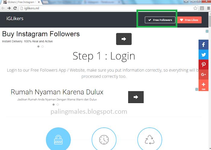 100 Followers Instagram Gratis Tanpa Password