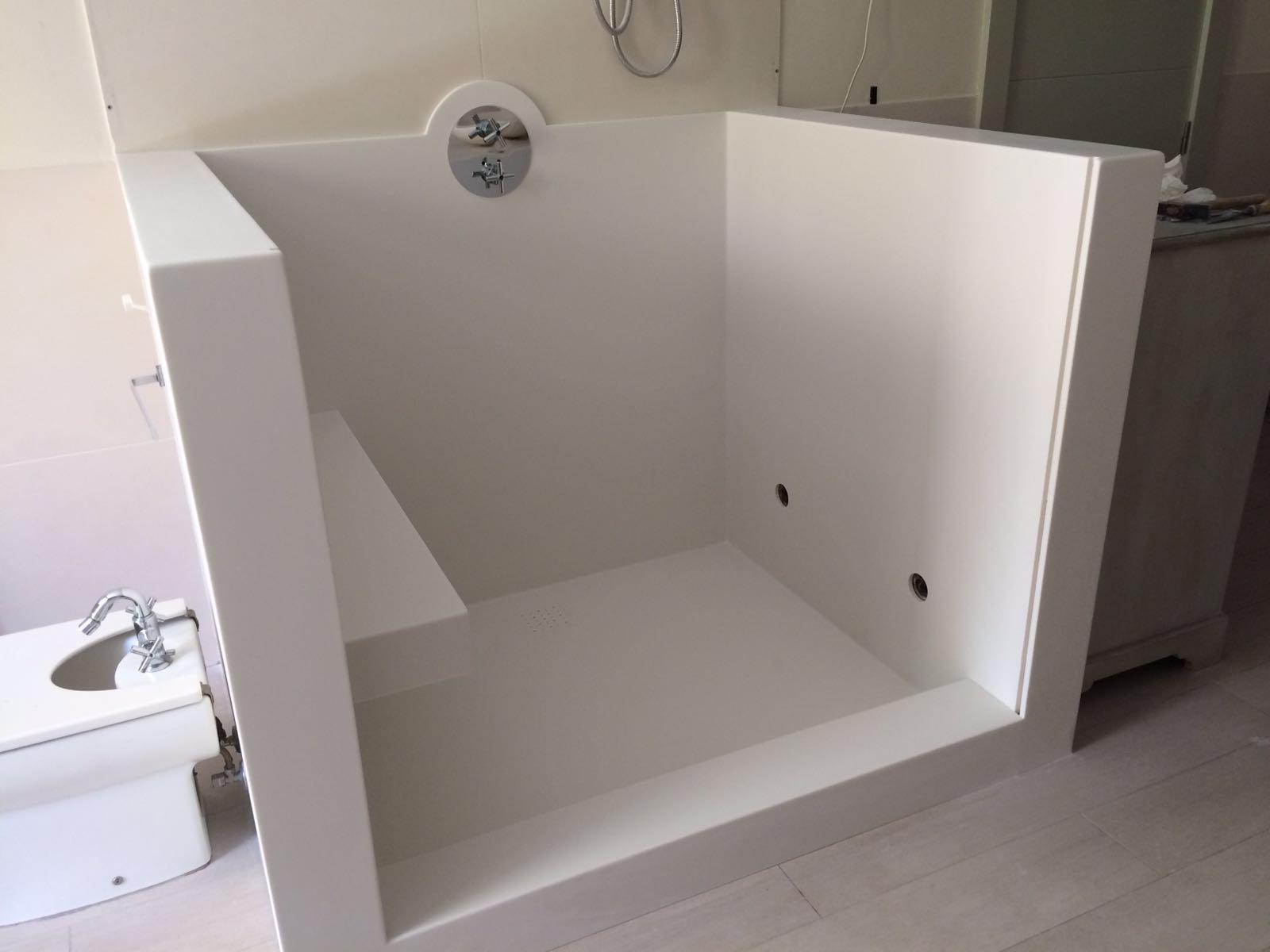 Carissa muebles a medida en madrid ba os cocinas - Plato ducha corian ...
