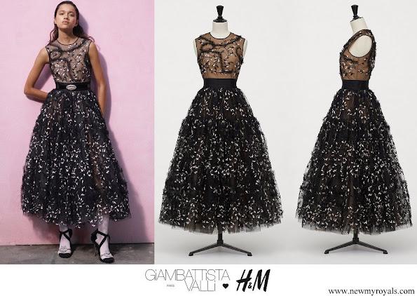 Crown Princess Victoria wore GIAMBATTISTA VALLI x H&M ankle length ball dress