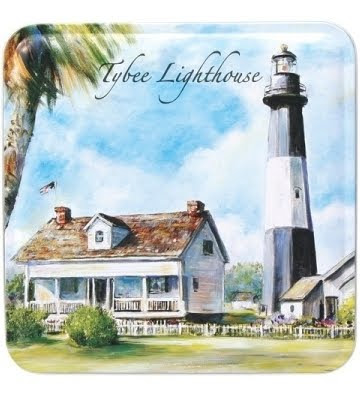 gift tin with lighthouse