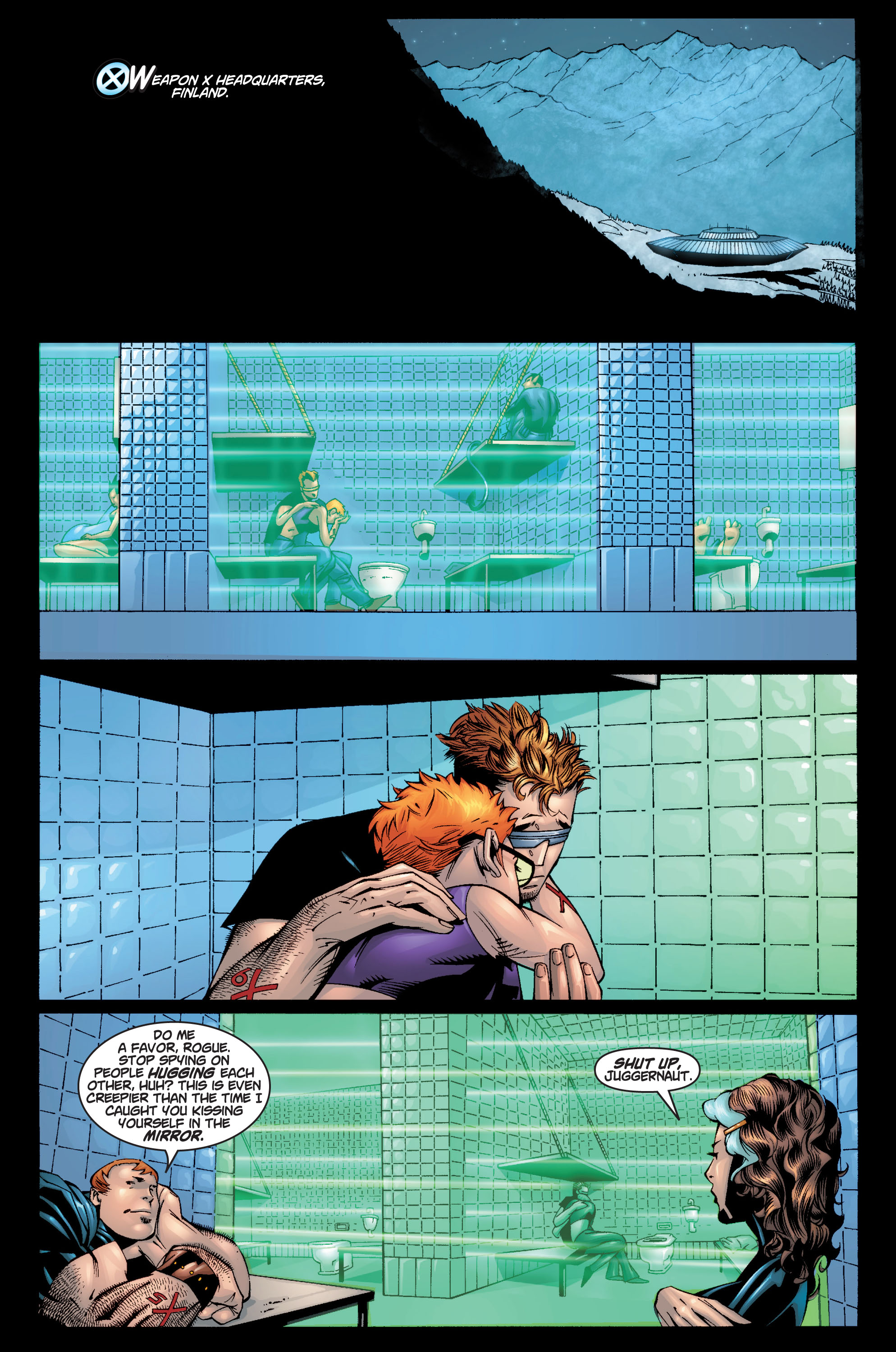 Read online Ultimate X-Men comic -  Issue #10 - 17