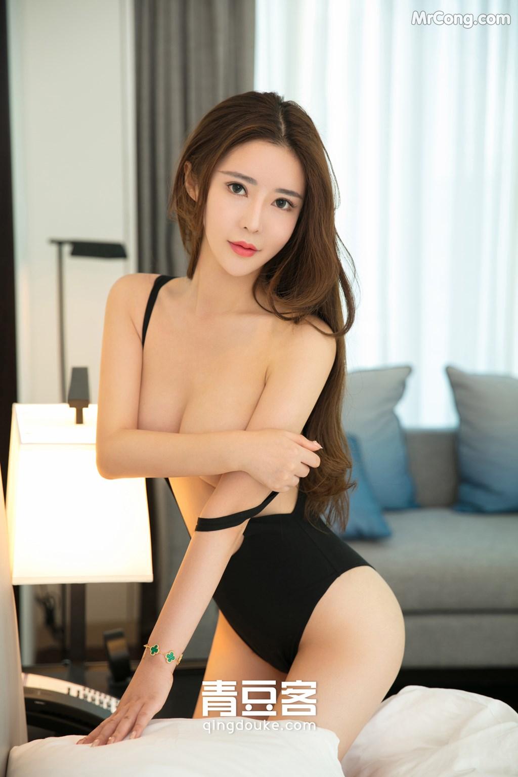 Image QingDouKe-2017-11-12-Tong-Man-MrCong.com-004 in post QingDouKe 2017-11-12: Người mẫu Tong Man (佟蔓) (50 ảnh)