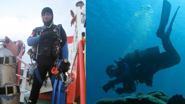 Penyelam Evakuasi Lion Air JT 610 Meninggal Dunia, Unggahan Sang Istri: Tunggu Aku di Jannah