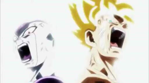 Fourth Form Frieza and Super Saiyan Goku