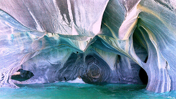 Marble Caverns of Carrera Lake - Chile