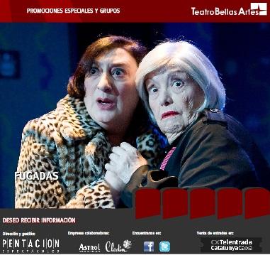 Fugadas en el Teatro Bellas Artes