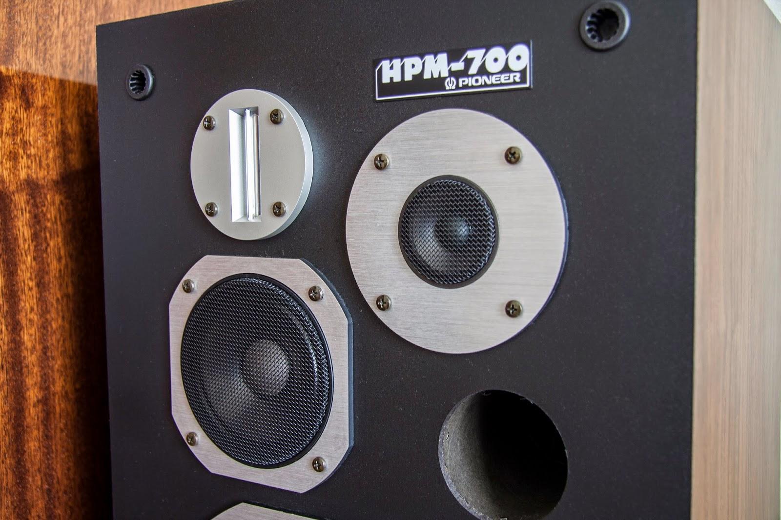 Golden Age Of Audio Pioneer Hpm 700 Speakers