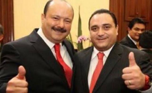 Fepade: Duarte desvío 80 mdp y Borge 200 mdp. Ambos a su querido partido, el PRI.