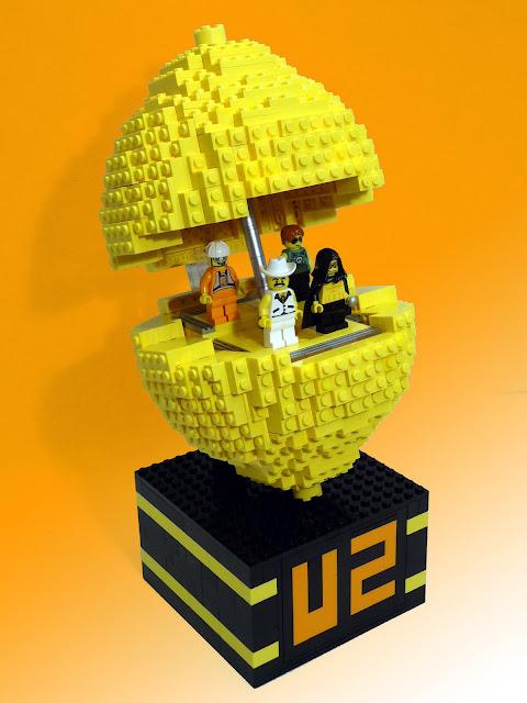 Popmart U2 limon conciertos en Lego