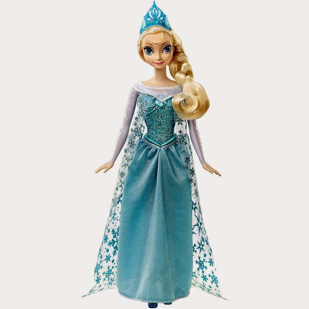 Gambar boneka elsa frozen