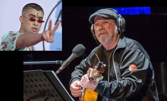 Silvio Rodríguez anuncia gira con Bad Bunny