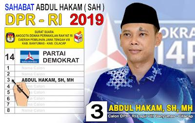 Profil Abdul Hakam, Caleg DPR-RI Dapil Jawa Tengah VIII