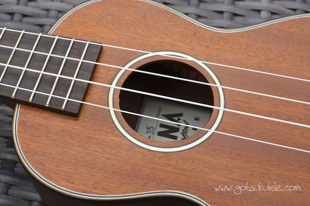 Ohana SK-35 Soprano Ukulele sound hole