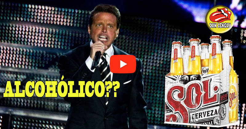 Luis Miguel dio un concierto completamente ebrio - Resultó alcohólico el cantante