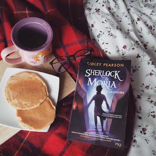 Sherlock et Moria de Ridley Pearson : un premier tome célèbre détective Coin des licornes Blog lifestyle Toulouse