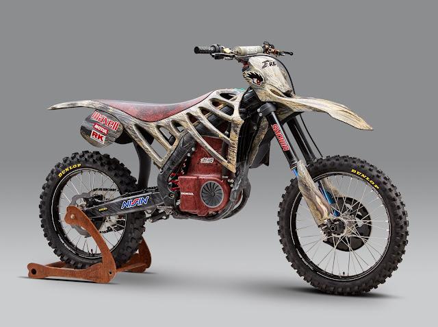 2017 Mugen E.Rex Electric Motocross - #Mugen #Electric #Motocross #motorbike
