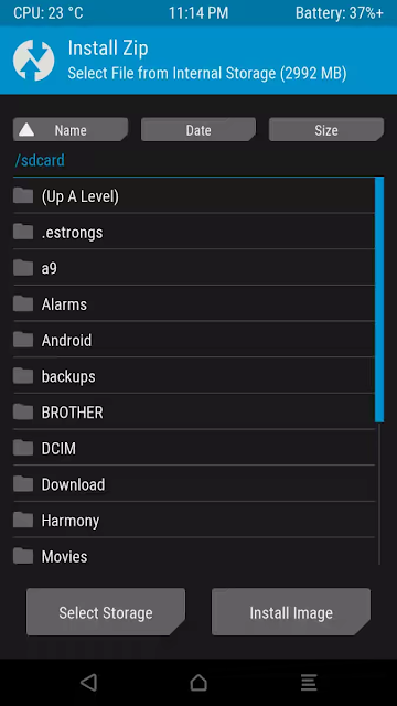 BLU Life 8 TWRP Recovery