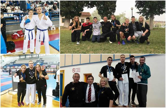 Ηγουμενίτσα: 2 χρυσά και 1 χάλκινο από την σχολή Black Belt shotokan karate