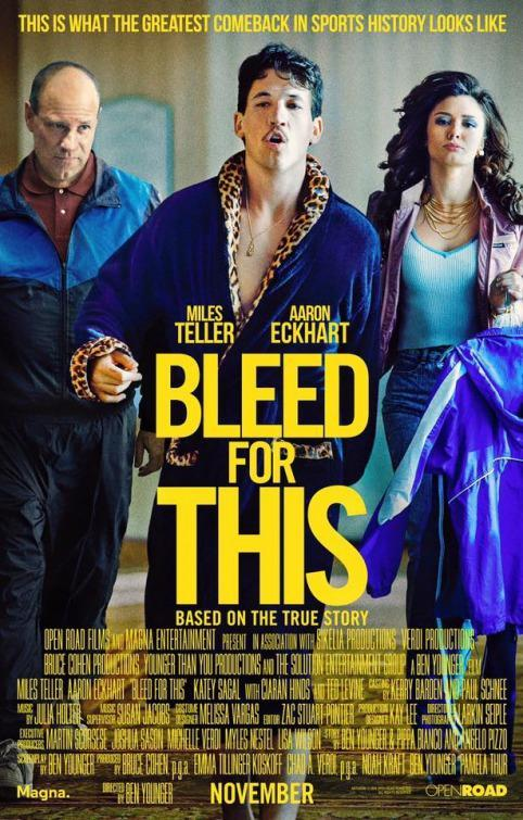 Bleed for This [2016] [DVDR] [NTSC] [Latino]
