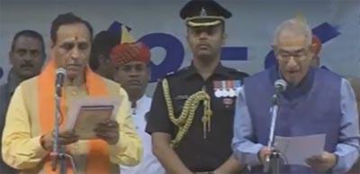 Vijay Rupani Gujarat CM