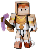 san diego comic-con 2016 mattel exclusive MINECRAFT SURVIVAL MODE PLAYER ONE teela figure