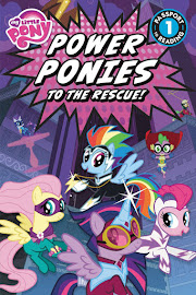 MLP Power Ponies to the Rescue Book Media