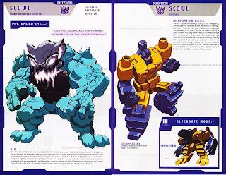 Scowl Decepticon Transformer