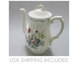 Royal Doulton Chelsea Rose Pattern 3 Cup Coffee Pot 1964-1970