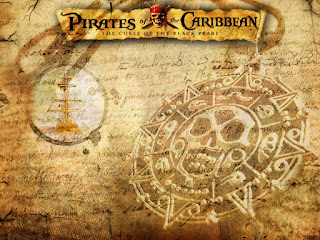 Pirates of the Caribbean Free Printable Paper.