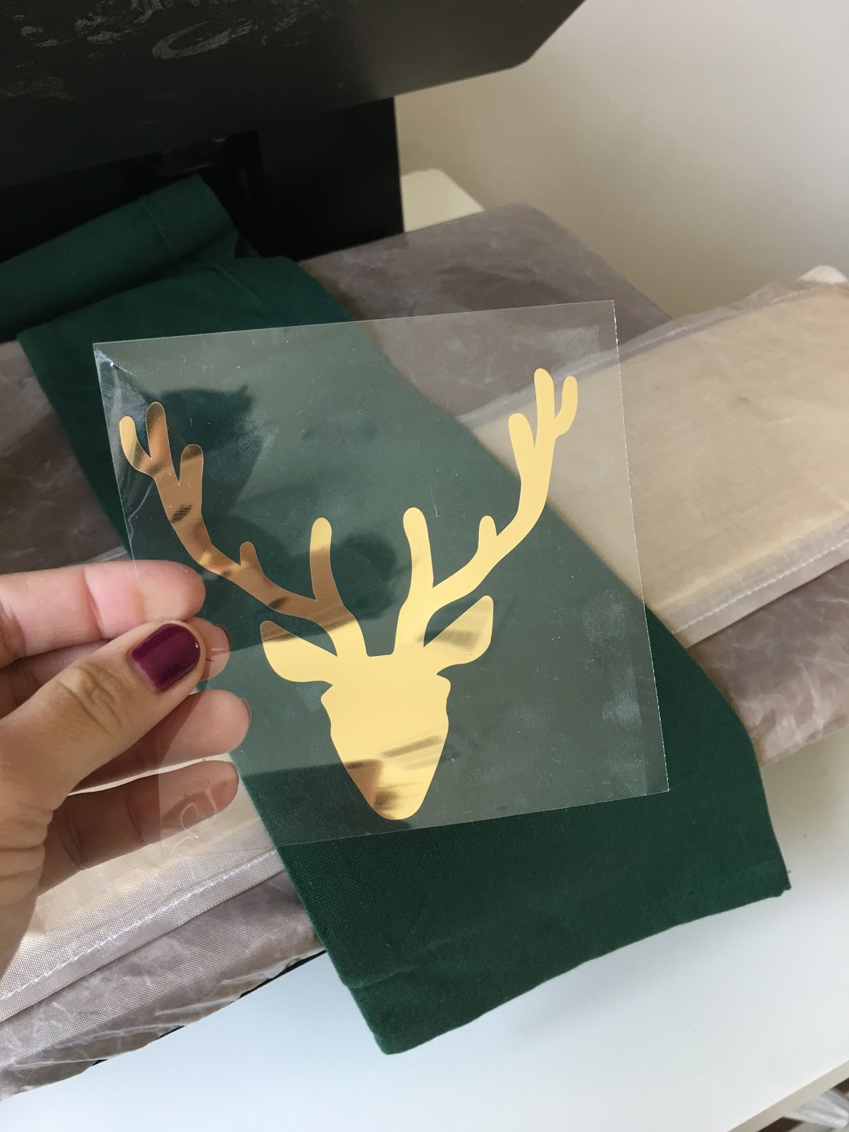 One Step Foil Heat Transfer With Silhouette Cameo