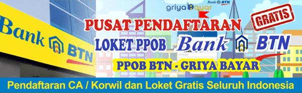 Griya Bayar Loket PPOB Bank BTN Daik Dolok Marawa