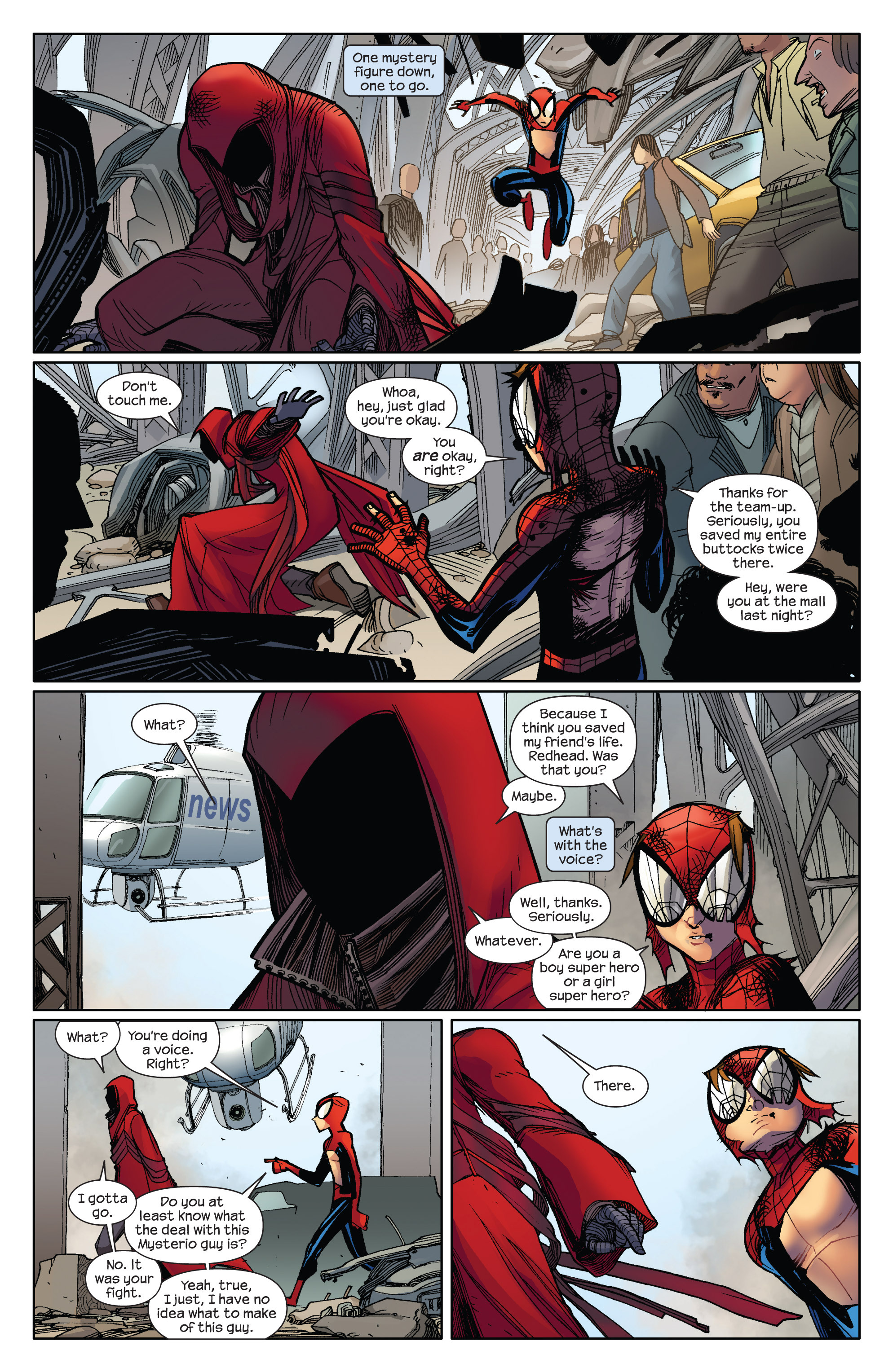 Read online Ultimate Spider-Man (2009) comic -  Issue #5 - 10