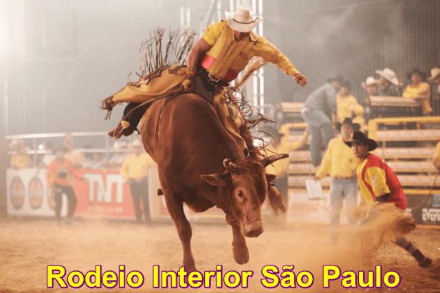 Agenda de Rodeio Interior de São Paulo