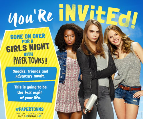 Paper Towns Girls Night Out