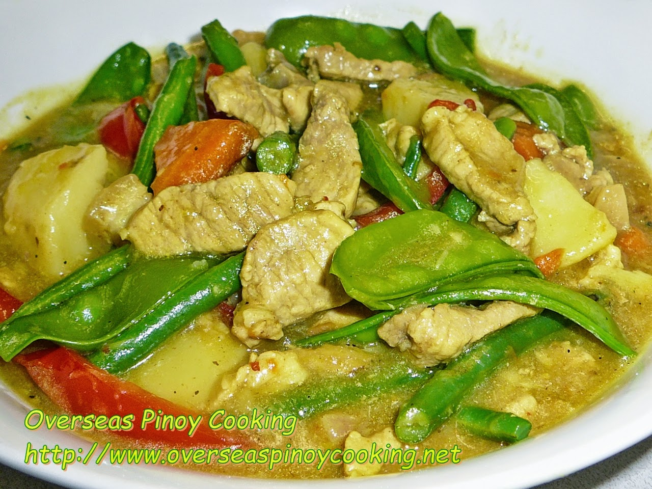 Overseas Pinoy Cooking Pinoy Pork Curry