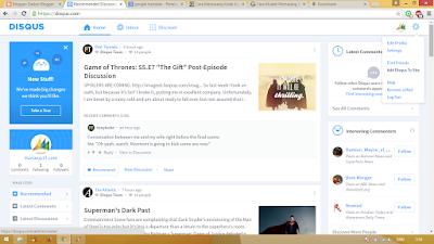 Cara Memasang Widget Disqus Ke Blog 2