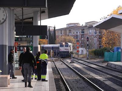 Un tren de los años 20 se pasea por Extremadura