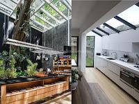 Atap Kaca Untuk Dapur Modern