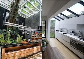 Atap Kaca Dapur