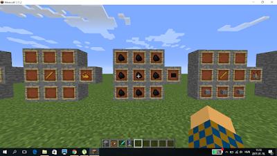 MInecraft crafting szén block