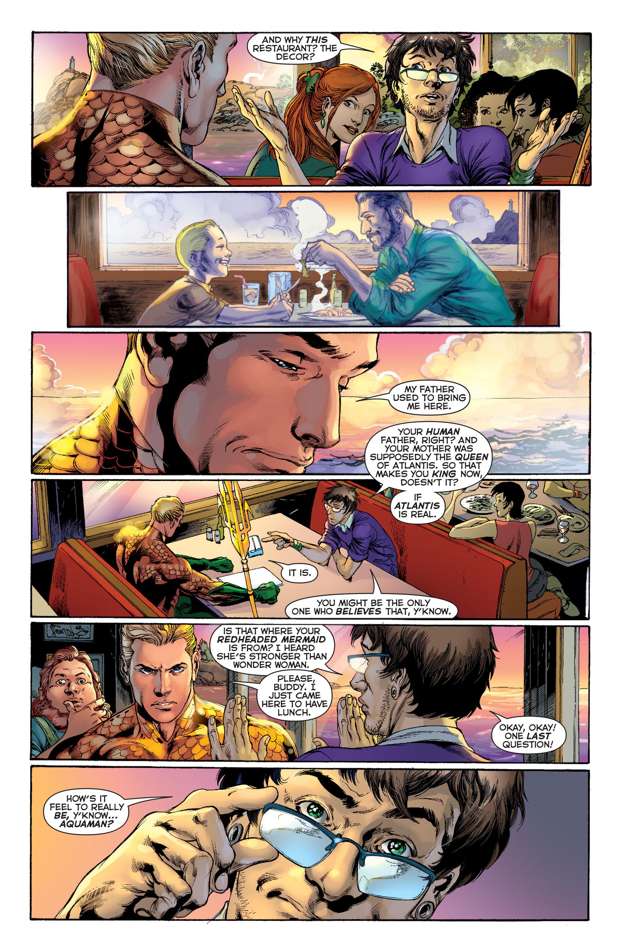 Read online Aquaman (2011) comic -  Issue #1 - 16