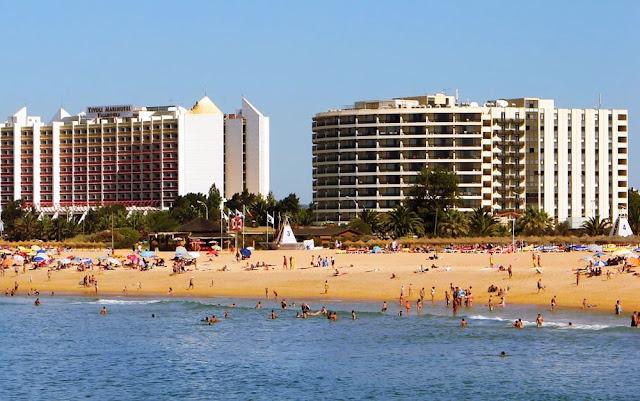 Vilamoura praia