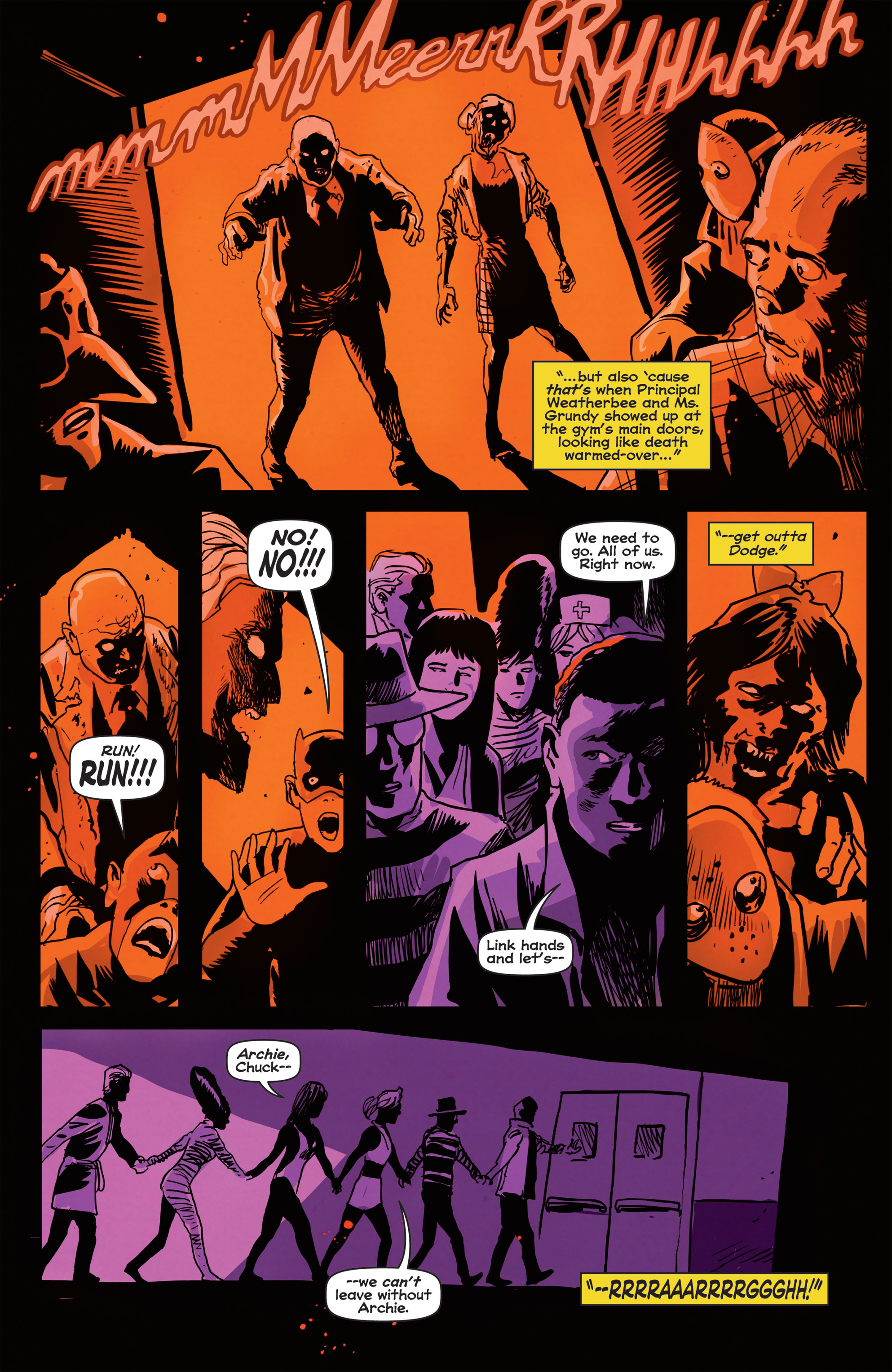 Read online Afterlife with Archie comic -  Issue #2 - 20