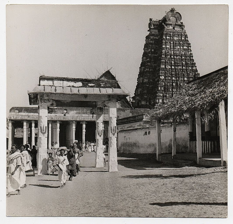 View of Srirangam Temple - Tamil Nadu, c1930's