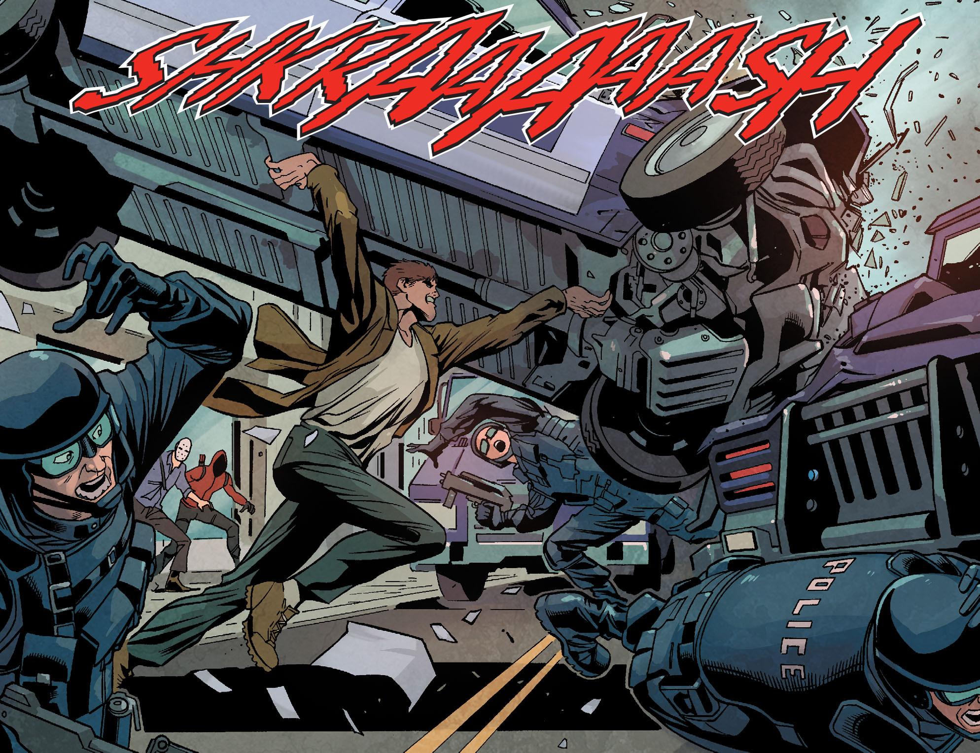 Read online Arrow: Season 2.5 [I] comic -  Issue #18 - 8