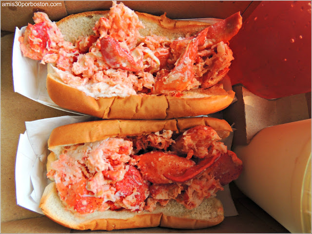 Lobster Roll en Castle Island, Boston