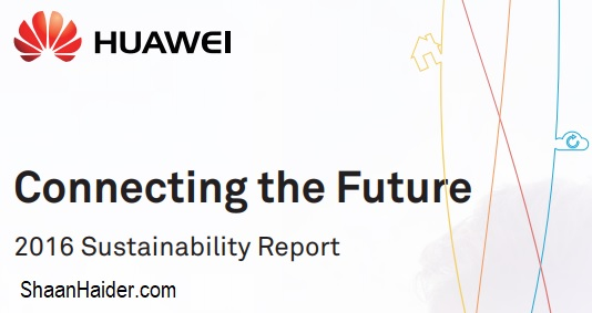Huawei 2016 Sustainability Report