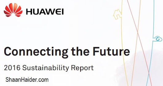 Huawei Ranked First among Chinese Private Enterprises with the Highest CSR Score - Huawei 2016 Sustainability Report (Infographic)