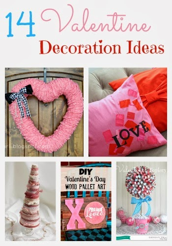 14 Valentine Decoration Ideas #Valentine #Decor