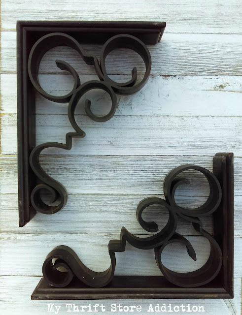 thrifted corbels